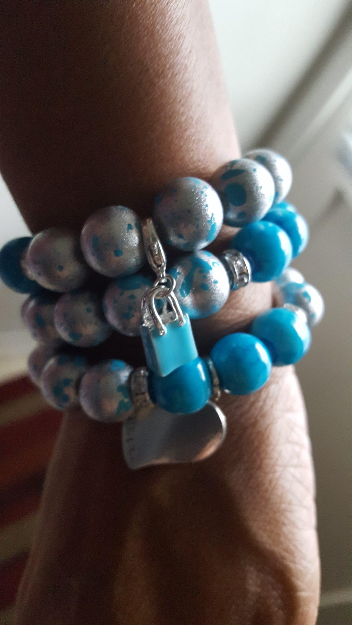 tiffany blue & silver bracelet